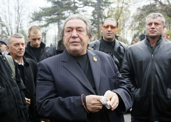 Boško Radonjić poslednji put javno viđen na sahrani velikog prijatelja Nikole Kavaje