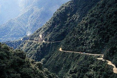 Death road in Bolivia [Shakpan coffee]