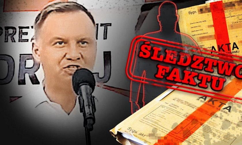 Nowe informacje w sprawie kontrowersyjnego ułaskawienia prezydenta Dudy