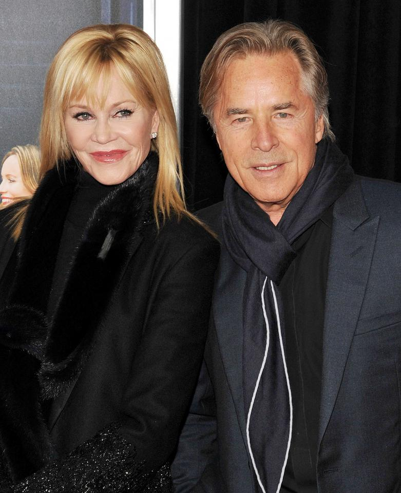 Melanie Griffith i Don Johnson