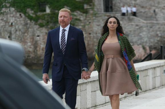 Boris Beker sa suprugom Lili