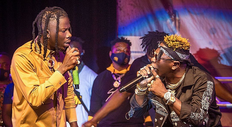 Shatta Wale and Stonebwoy battle for supremacy for the first time (VIDEOS)