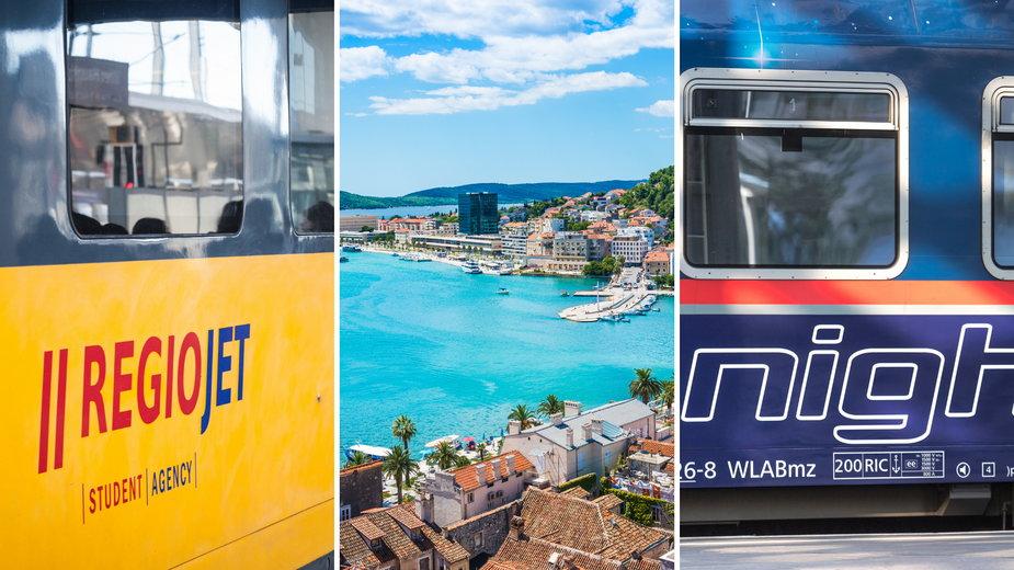 Czy warto wybrać się pociągiem do Chorwacji?