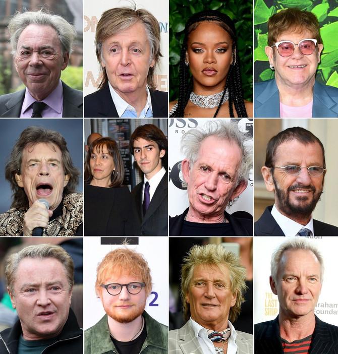 Top 10 najbogatijih muzičara u Velikoj Britaniji