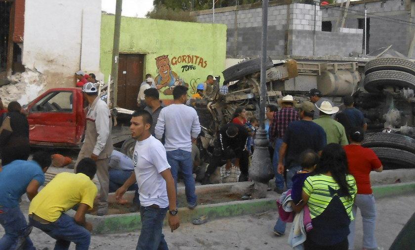 Tragedia podczas święta na cześć Jezusa w Mezapil, Meksyk