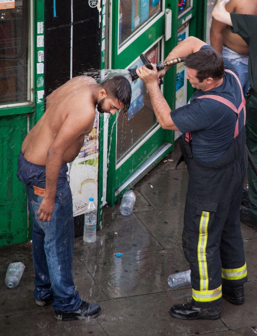 Atak kwasem w Londynie! Ofiary płakały i błagały o pomoc