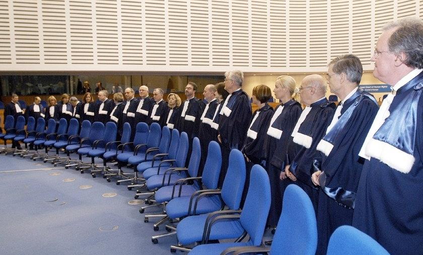 Europejski Trybunal Praw Człowieka.