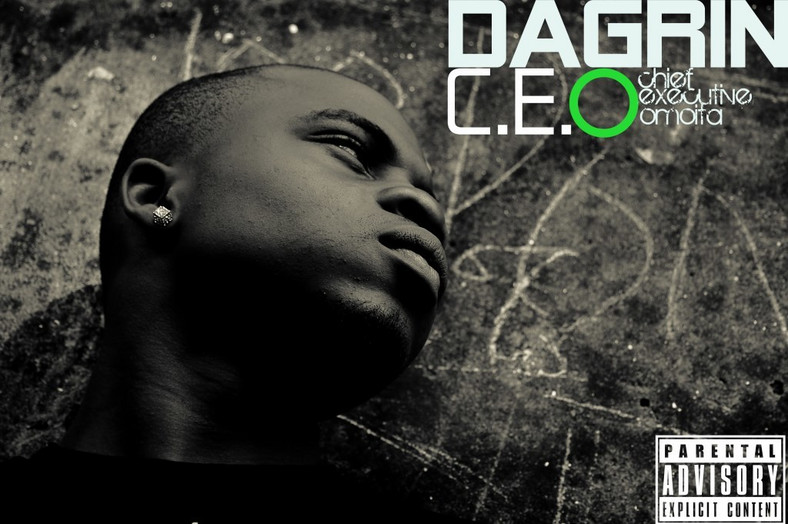 The album cover of Dagrin's 'C.E.O' album (Culture Custodian)