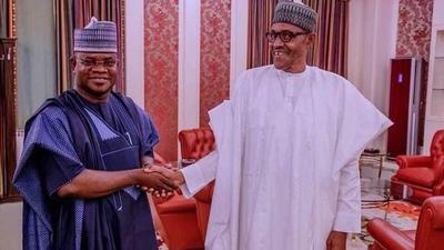 Buhari meets Gov Bello, says Nigeria's unity not negotiable