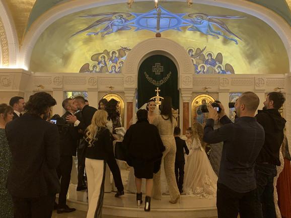 Bogdana i Veljko - venčanje u crkvi