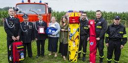 Pomagamy strażakom z OSP z Gołubia, Patrzykowa i Kiełkowic