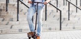 Jest zarzut dla Brytyjczyka, który potrącił 4-latka na elektrycznej hulajnodze