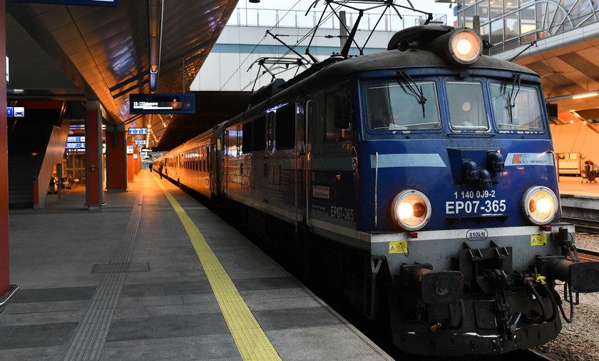 Pociąg z Krakowa do Suwałk zlikwidowany