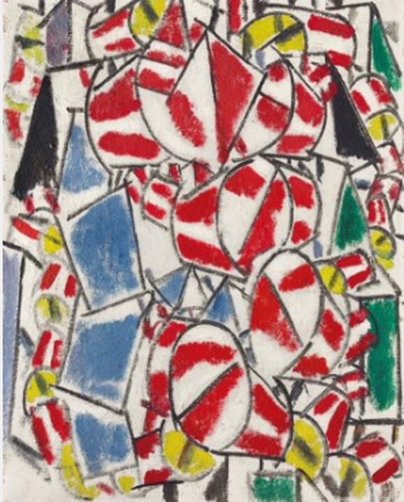 Fernan Leže, Kontrast oblika, 1913.