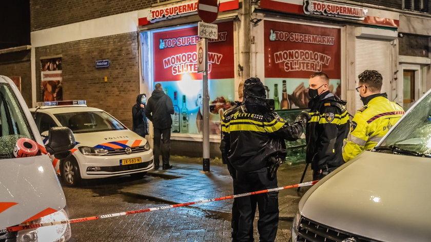 21-latek ostrzelał we wtorek polski supermarket w Rotterdamie