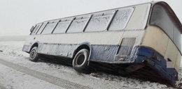 Wiatr zepchnął z drogi autobus! Uwaga na Fryderykę