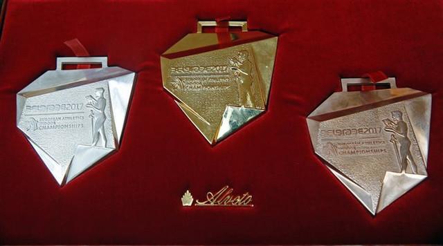 Medalje koje čekaju najbolje na Evropskom dvoranskom prvenstvu u atletici 2017.