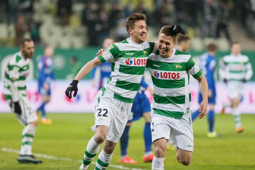 Mario Maloca i Rafał Janicki to najczęściej grający obok siebie środkowi obrońcy Lechii