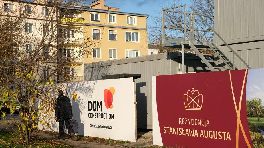 Budowa osiedla mieszkalnego na Kamionkowskich Błoniach Elekcyjnych