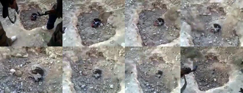 Syria żywcem pogrzebany