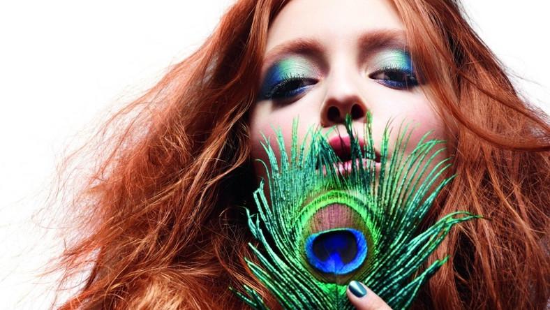 """""""Cesarski błękit"""" to jeden z kierunków makijażu proponowanych na jesień 2011 przez Sephorę."""