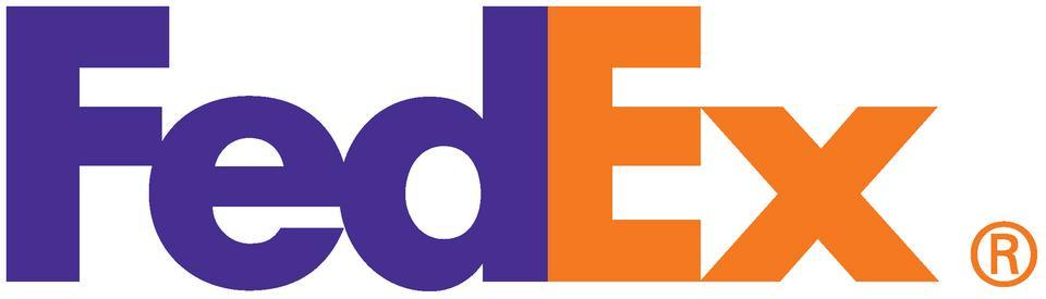 """FedEx – W logo FedExu, między """"E"""" a """"x"""" kryje się strzałka, która ma sugerować precyzję, prędkość i ruch naprzód."""