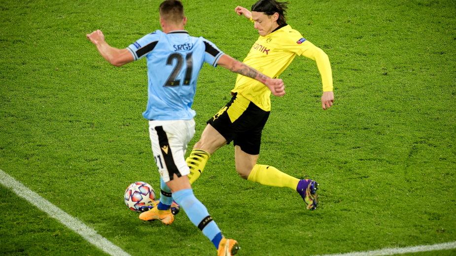 Sergej Milinkovic-Savic (Lazio) i Nico Schulz (Borussia)