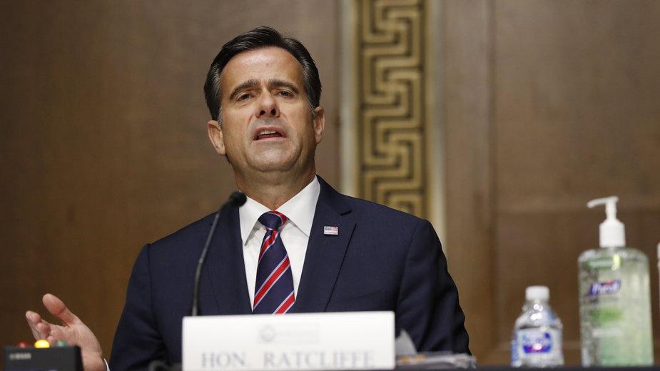Szef wywiadu USA John Ratcliffe