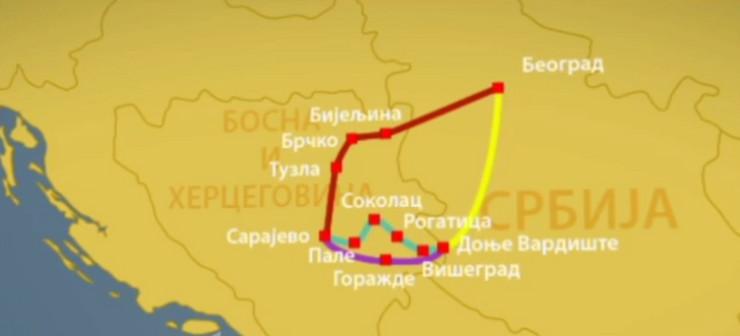 autoput beograd sarajevo