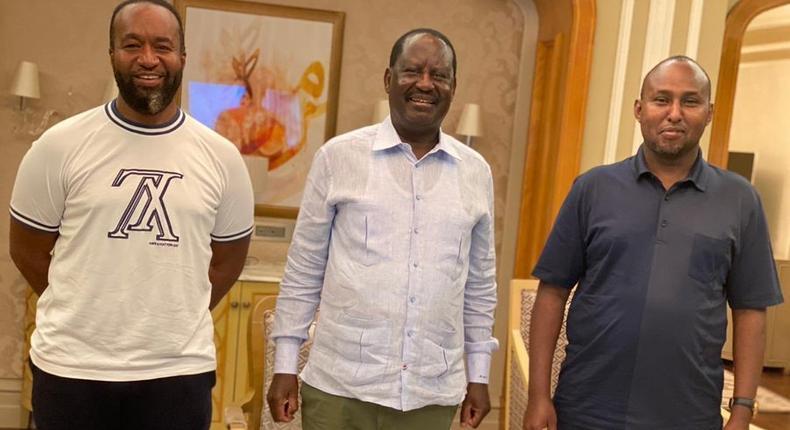 Details of ODM Leader Raila' Odingas low key return to Nairobi  from Dubai on Sunday night
