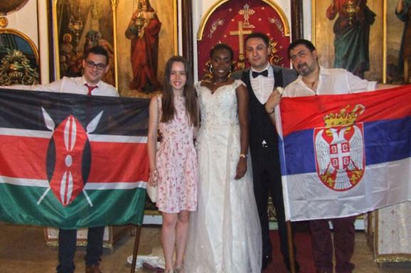 Venčanje u Zaječaru koje je ostavilo Srbiju u šoku: Rukometaš se oženio devojkom iz Kenije, a porodica joj je već dala SRPSKI NADIMAK