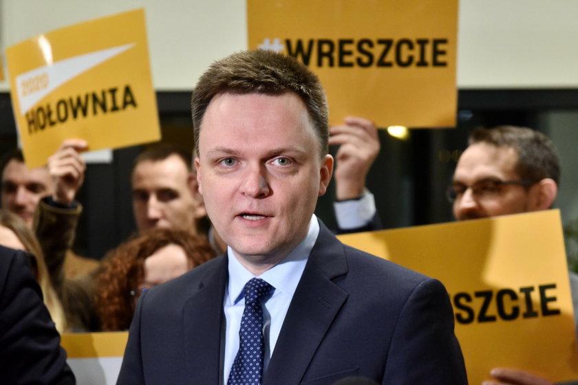 Szymon Hołownia ma sporą szansę wejść do II tury wyborów