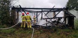 Tragiczny pożar na Podlasiu. W spalonej stodole znaleziono ciało