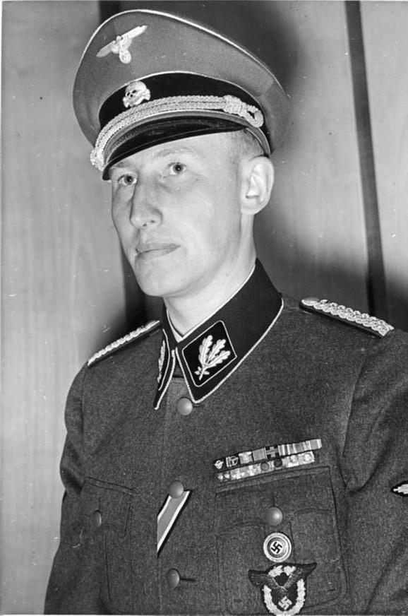 Rajnhard Hajdrih je bio jedan od najbližih Hitlerovih saradnika