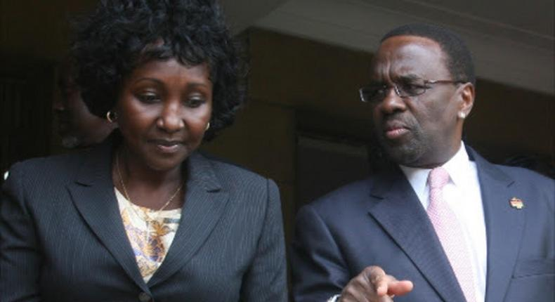CJ Willy Mutunga answers those questioning Gladys Shollei's speed of moving on after divorce