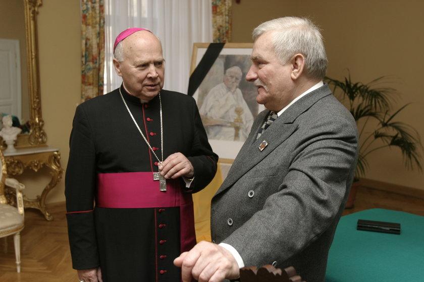 Abp Tadeusz Gocłowski: to, co dzieje się z nazwiskiem Wałęsy, jest dla mnie przykre
