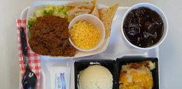 Posiłki szkolne z całego świata. Kiełbasa, frytki i...