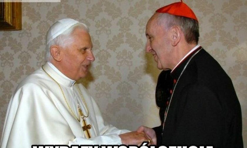 Memy z Papieżem Franciszkiem.