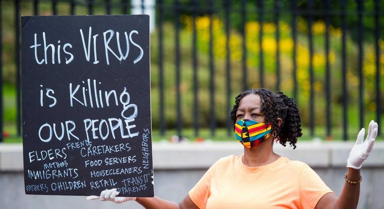 coronavirus minority deaths