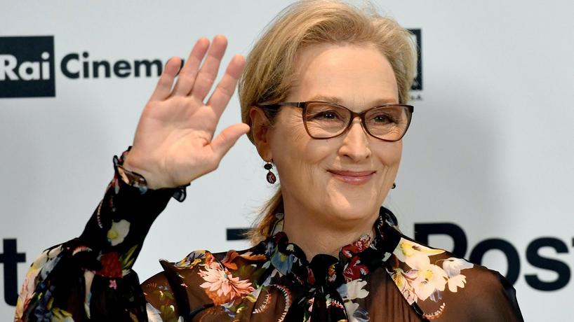 "Meryl Streep - nominowana do nagrody Oscary 2018 w kategorii ""Aktorka"""