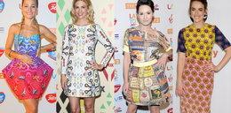 Sukienki w szalone wzory