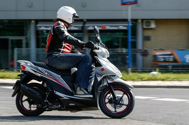 Suzuki Address 125 - cichy i zwrotny