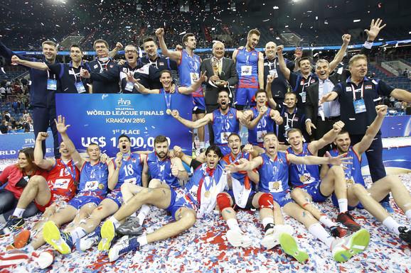 Odbojkaška reprezentacija Srbije - osvajač Svetske lige