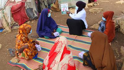 Healing survivors of GBV (gender-based violence) in IDP (internally displaced persons) camps