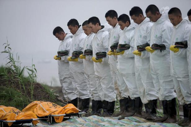 Chiny po katastrofie na rzecze Jangcy