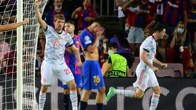 Bayern sent 'important signal' in Barca win says Mueller