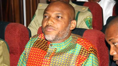 Court rejects Nnamdi Kanu's plea to be moved to Kuje correctional Centre