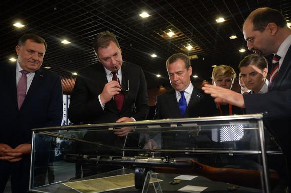 Medvedev u Srbiji