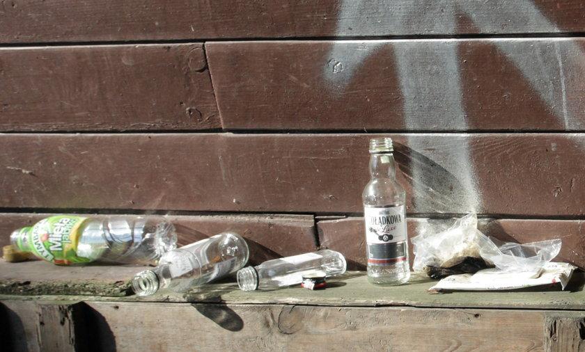 Takie śmieci widzą turyści w Oliwie