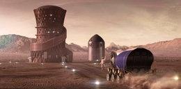 Tak będziemy mieszkać na Marsie